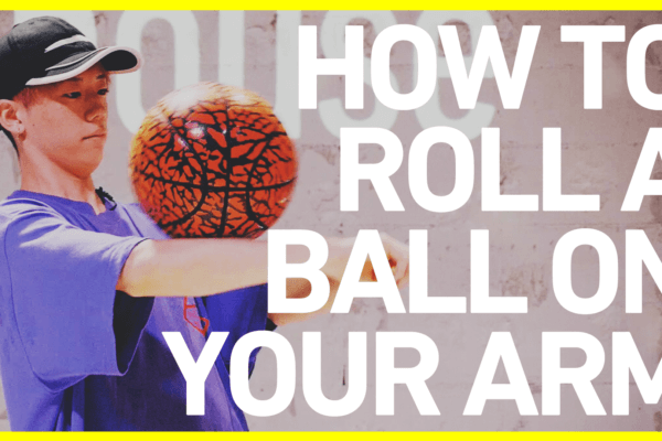 アームロールのやり方 FSBB BASICS#3 / How to roll a ball on your arm / Freestyle Basketball