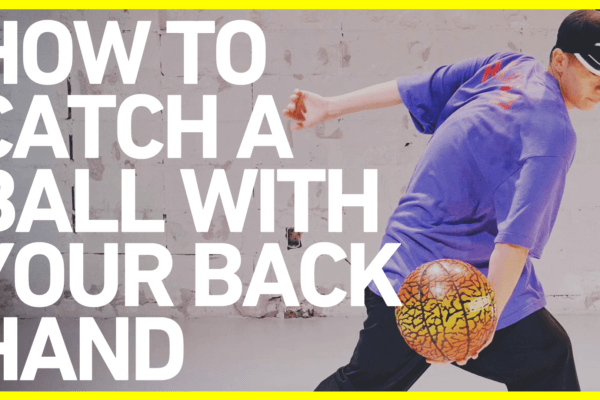 逆手キャッチのやり方 FSBB BASICS#4 / How to catch a ball with your back hand / Freestyle Basketball
