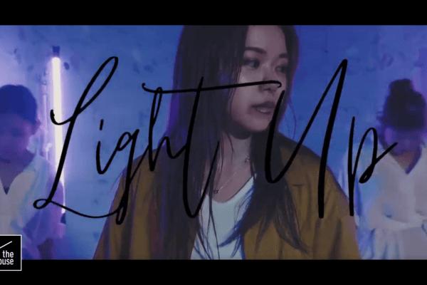 鶴田奈々によるダンスボーカルムービーをinthehouseにて撮影。/ Nana Tsuruta – Light Up – Choreo edit in the house