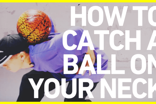 ネックキャッチのやり方 FSBB BASICS#7 / How to catch a ball on your neck / Freestyle Basketball